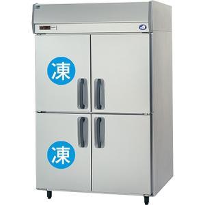幅1200*奥行800 容量1026L パナソニック 冷凍冷蔵庫 2室冷凍タイプ SRR-K1283C2|oishii-chubou