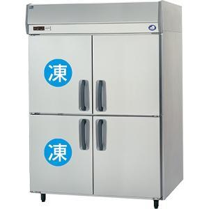 幅1460*奥行800 容量1282L パナソニック 冷凍冷蔵庫 2室冷凍タイプ SRR-K1581C2|oishii-chubou