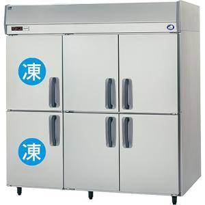 幅1785*奥行650 容量1241L パナソニック 冷凍冷蔵庫 2室冷凍タイプ SRR-K1861C2|oishii-chubou