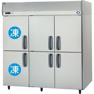 幅1785*奥行800 容量1592L パナソニック 冷凍冷蔵庫 2室冷凍タイプ SRR-K1881C2|oishii-chubou