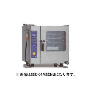 マルゼン スチームコンベクションオーブン 電気式スタンダード ミニタイプ 逆扉仕様 SSC-04MRSCNU|oishii-chubou