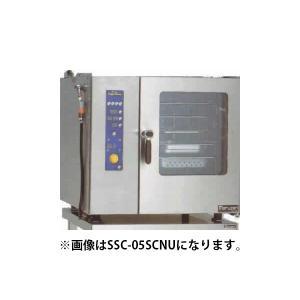 マルゼン スチームコンベクションオーブン 電気式スタンダード ミニタイプ 逆扉仕様 SSC-05RSCNU|oishii-chubou