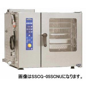マルゼン スチームコンベクションオーブン ガス式スタンダード SSCG-05SCNU|oishii-chubou