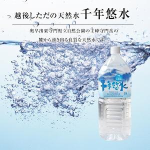新潟の名水 越後しただの天然水【千年悠水】 2L×6本 ミネラルウォーター|oishii-kome