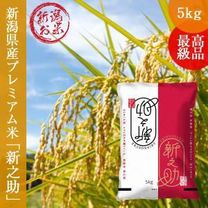 新米 新之助 しんのすけ 5kg (5kg×1袋 )  新潟産 送料無料 お米 白米 令和2年産 oishii-kome