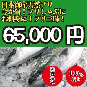 2018年入荷次第発送開始! 13kg以上 日本海産 ブリ(...