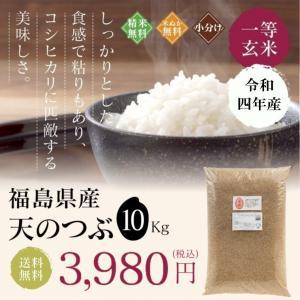 新米 お米 10Kg 福島県産 天のつぶ 送料無料 無洗米 精米 令和元年産 一等米|oisiiokomedesu