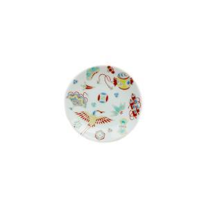 九谷焼らしい鮮やかな絵付けの縁起コレクションの猪口シリーズ。鮮やかな九谷の5彩色に昔から愛され続ける...