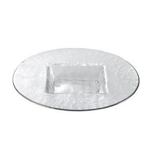 ドイツ語で氷山を意味するアイスベルクの名を冠したシリーズのプレート。氷山のように凸凹とした表面、しっ...