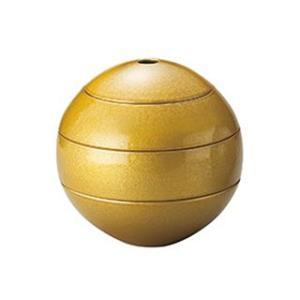 漆石 珠型三段重 中 ゴールド((限定クーポン!1万円以上お...