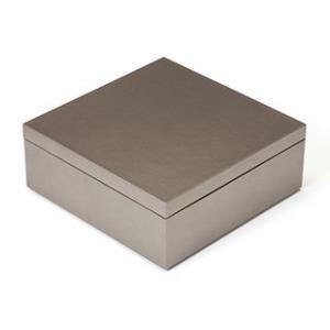 【年末感謝・全品ポイントアップ】6.5寸マス重 銀【重箱】