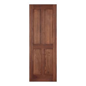 LOHAS material オリジナル無垢建具ドア オーセンティックシリーズ AD06 パイン 無塗装|ok-depot