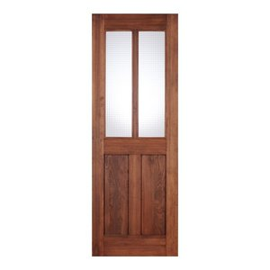 LOHAS material オリジナル無垢建具ドア オーセンティックシリーズ AD08 パイン 無塗装|ok-depot