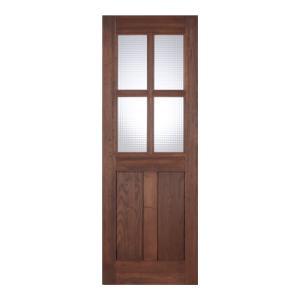 LOHAS material オリジナル無垢建具ドア オーセンティックシリーズ AD09 パイン 無塗装|ok-depot