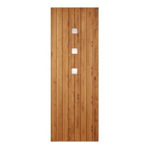 LOHAS material オリジナル無垢建具ドア モダンシリーズ MD08 パイン 無塗装|ok-depot