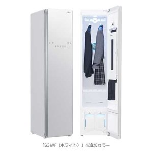 衣類スチーマー LG styler S3WF ホワイト LGエレクトロニクス LGスタイラー 除菌 ...
