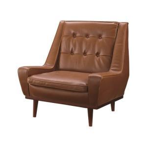 家具 OK-DEPOT material ブルックリン 1人掛 GOKS-701LBR|ok-depot