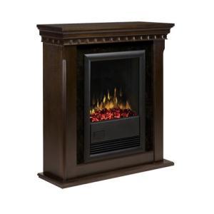 電気式暖炉 カナディアンライフスタイル カナディアンライフスタイル Dimplex(ディンプレックス) 18inchプロローグ ブラバド2 エスプレッソ|ok-depot
