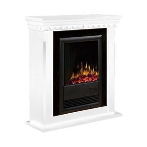 電気式暖炉 カナディアンライフスタイル Dimplex(ディンプレックス) 18inchプロローグ ブラバド2 ホワイト|ok-depot