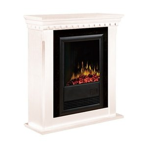 電気式暖炉 カナディアンライフスタイル Dimplex(ディンプレックス) 18inchプロローグ ブラバド2 アンティークホワイト|ok-depot