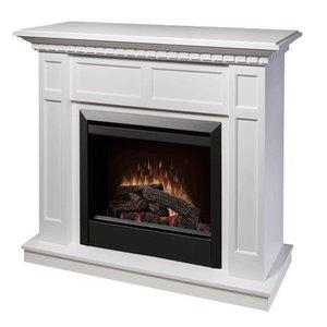 電気式暖炉 カナディアンライフスタイル Dimplex(ディンプレックス) 23inchプロローグ キャップライス ホワイト|ok-depot
