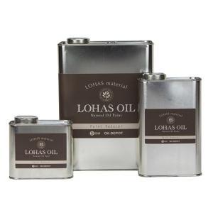 LOHAS material 国産自然塗料LOHAS OIL(ロハスオイル)シリーズ ロハスオイル専用うすめ液 0.3L|ok-depot