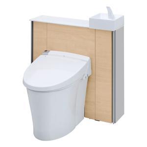 キャビネット付きトイレ リフォレ I型 標準間口 手洗い付き 床排水 H1グレード YDS-H2SX...