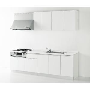 Housetec(ハウステック) システムキッチン ハウステック Kanarie(カナリエ) I型 開き扉タイプ 間口2550mm 扉A 食洗機無し|ok-depot