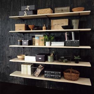 ウッドワン 無垢の木の収納 ミミ付き棚板プラン MT-002|ok-depot