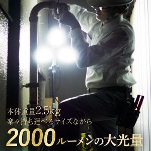 LED ライト 照明器具 投光器 ワークライト スタイリッシュ okacho-store