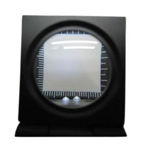 折りたたみルーペ(簡易スケール付折りたたみ式拡大鏡)|okada-mishin