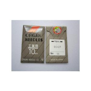 ミシン針 DC×27 オルガンハリ 工業用ロックミシン針【ポスト投函便可】|okada-mishin