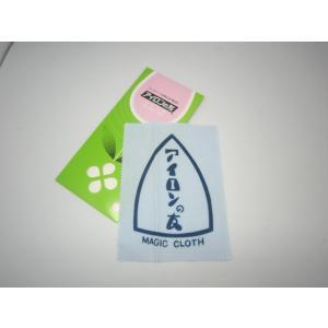 アイロンの友 ミズホケミカル 布タイプ 【ポスト投函便可】|okada-mishin