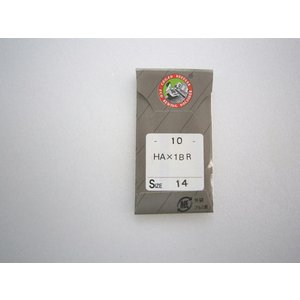 ミシン針 HA×1BR オルハンハリ レギュラータイプ クロームメッキ仕様【メール便可】|okada-mishin