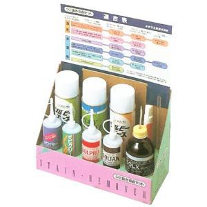 シミ抜き10点セット オザワ工業 頑固なシミの前処理剤|okada-mishin