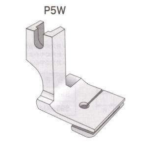 縫い合わせギャザー押え金 スイセイ P-5W ワイドタイプ  【ポスト投函便可】|okada-mishin