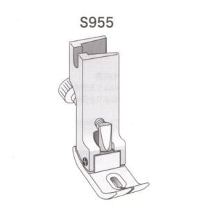 調整式ギャザー押え金 スイセイ S955 【ポスト投函便可】|okada-mishin