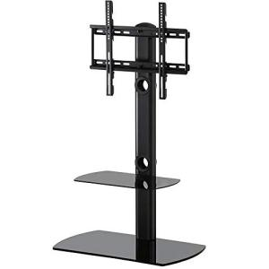 Home FITUEYES テレビスタンド 23〜55インチ対応 壁寄せテレビスタンド 高さ調節可能...