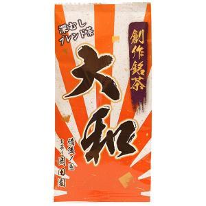 「商品情報」●深むしブレンド茶 大和80g 〜珈琲を超える日本茶を目指して〜世界の嗜好飲料の中で日本...