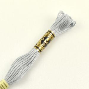 刺しゅう材料 DMC 刺繍糸 25番 色番415 (H)_5a_