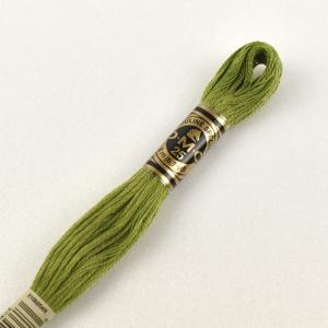 刺しゅう材料 DMC 刺繍糸 25番 色番470 (H)_5a_