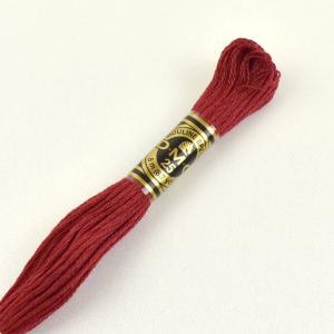 刺しゅう材料 DMC 刺繍糸 25番 色番498 (H)_5a_