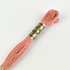 刺しゅう材料 DMC 刺繍糸 25番 色番760 (H)_5a_