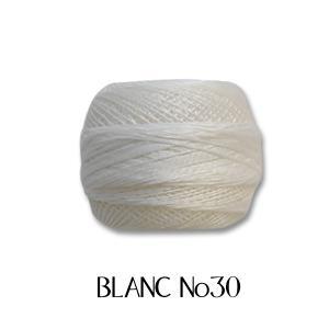 レース糸 DMC コルドネスペシャル #30 BLANC (H)_5b_ okadaya-ec