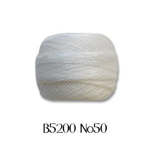 レース糸 DMC コルドネスペシャル #50 B5200 (H)_5b_ okadaya-ec