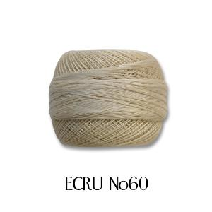 レース糸 DMC コルドネスペシャル #60 ECRU (H)_5b_ okadaya-ec
