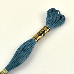 刺しゅう材料 DMC 刺繍糸 25番 色番3765 (H)_5a_