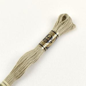 刺しゅう材料 DMC 刺繍糸 25番 色番3782 (H)_5a_