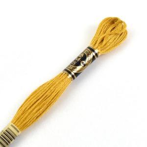 刺しゅう材料 DMC 刺繍糸 25番 色番3820 (H)_5a_