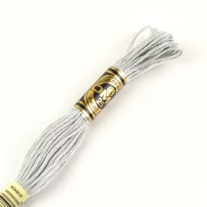 刺しゅう材料 DMC 刺繍糸 25番 色番02 (H)_5a_